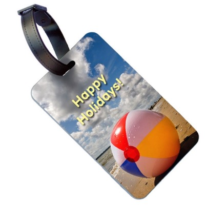Image of Printed Luggage Tag (Buckle Strap)