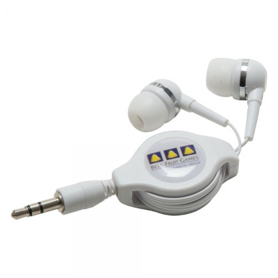Image of Premium Retractable Earphones