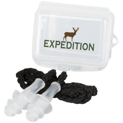 Image of Bazz reusable noise reduction ear plugs in case