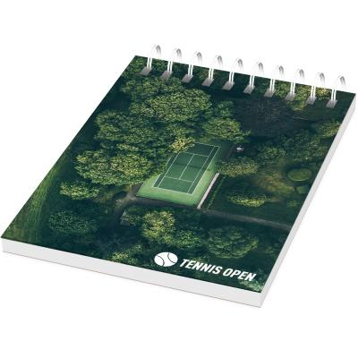 Image of Desk-Mate® wire-o A7 notebook - 50 pages