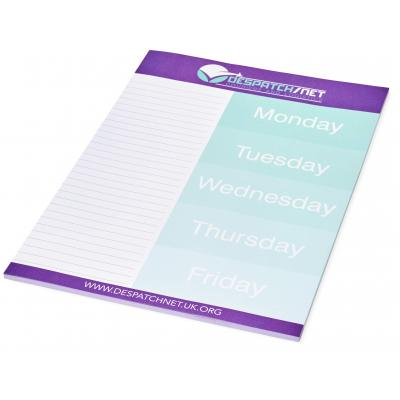 Image of Desk-Mate® A4 notepad - 25 pages