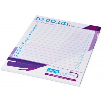 Image of Desk-Mate® A5 notepad - 50 pages